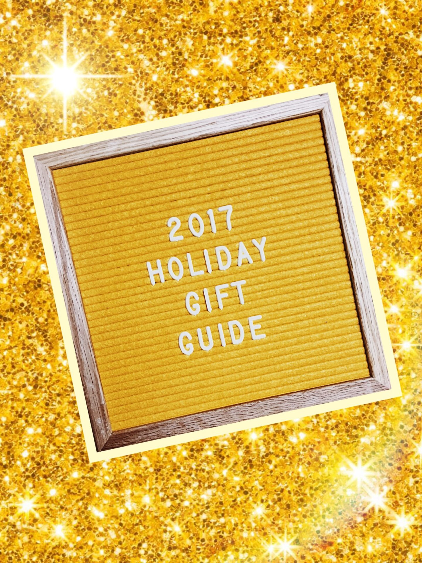 2017 HOLIDAY GIFT GUIDE.